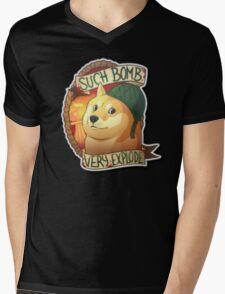 Counter Strike Mens V-Neck T-Shirt