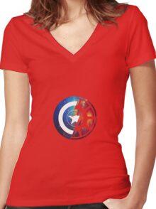 war Women's Fitted V-Neck T-Shirt