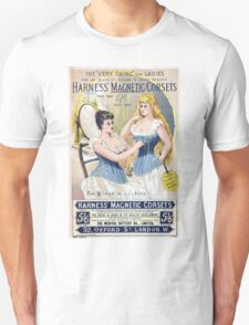 Vintage Medical Quackery Harness Magnetic Corsets Unisex T-Shirt