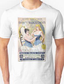Vintage Medical Quackery Harness Magnetic Corsets T-Shirt