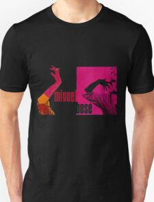 miguel bosè in high heels Unisex T-Shirt
