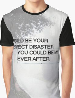 Marianas Trench Ever After Text Graphic T-Shirt