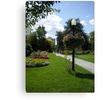 Halifax Public Gardens, Nova Scotia, Canada Canvas Print