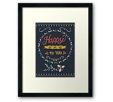 Happy Ho Ho Ho To You Framed Print