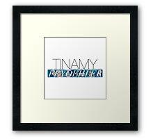 Tinamy Feyoehler Framed Print