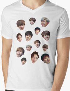 Bangtan Boys Mens V-Neck T-Shirt
