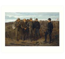 Prisoners from the Front by Winslow Homer (1866) Art Print