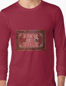 Big lebowski Carpet Long Sleeve T-Shirt