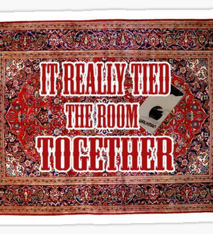 Big lebowski Carpet Sticker
