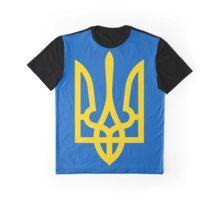 Ukraine Coat of Arms Graphic T-Shirt