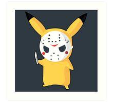 Pikachu Art Print