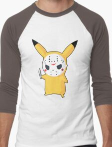 Pikachu Men's Baseball ¾ T-Shirt
