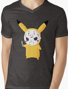 Pikachu Mens V-Neck T-Shirt