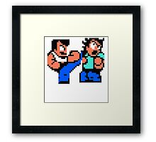 River City Ransom Barf Framed Print