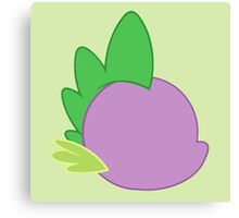 My little Pony - Spike Cutie Mark Special Canvas Print