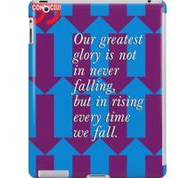 Confucius Inspirational Quote iPad Case/Skin