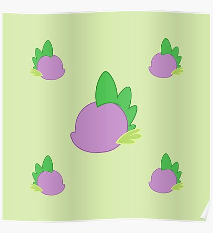 My little Pony - Spike Cutie Mark Special V3 Poster