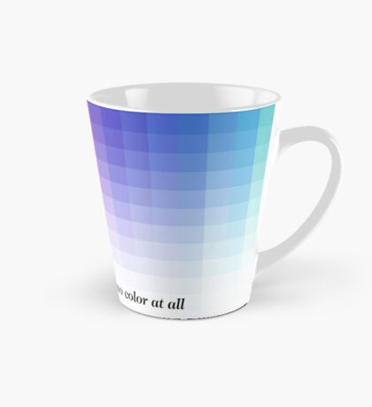 Use Color With Moderation (Chermayeff's Quote) Tall Mug