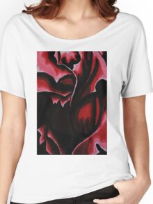 Dark Rose Women's Relaxed Fit T-Shirt