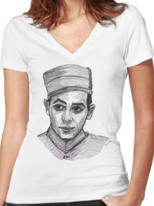 Pee-Wee Herman Women's Fitted V-Neck T-Shirt