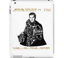 Star Trek Wars sci-fi homage  iPad Case/Skin