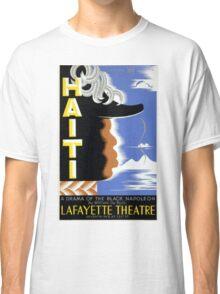 Vintage Federal Theatre Project Haiti Harlem WPA Classic T-Shirt