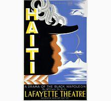 Vintage Federal Theatre Project Haiti Harlem WPA Unisex T-Shirt