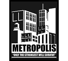 Metropolis (BLACK) Photographic Print
