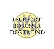 Borussia Dortmund Support Photographic Print