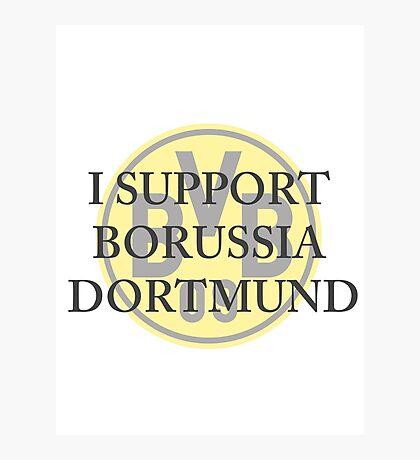 Borussia Dortmund Support Photographic Print