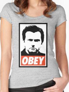 Kilgrave - Obey (Jessica Jones) Women's Fitted Scoop T-Shirt