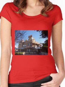 The Brekkie Ck Pub  Women's Fitted Scoop T-Shirt