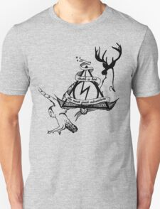 death is but the next great adventure Unisex T-Shirt