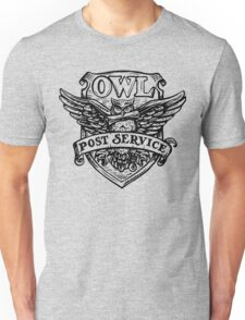 OWL post sevice  Unisex T-Shirt