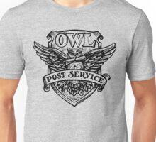 OWL post sevice  Unisex T-Shirt