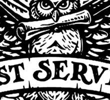 OWL post sevice  Sticker
