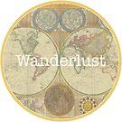 Wanderlust Map by Eunoia
