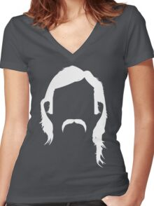 Rustin Cohle Women's Fitted V-Neck T-Shirt