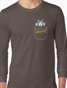 Temmie Pocket Tee Long Sleeve T-Shirt