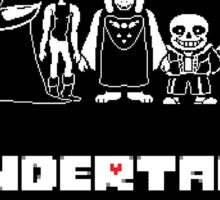 Undertale Family Sticker