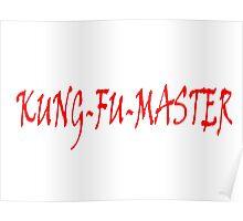 KUNG FU MASTER Poster