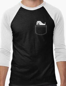 Undertale Dog Pocket Tee Men's Baseball ¾ T-Shirt