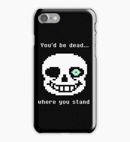 Undertale Sans iPhone Case/Skin