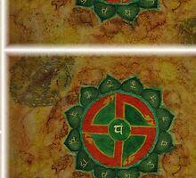 Anahata - Heart chakra  by MrBArtist