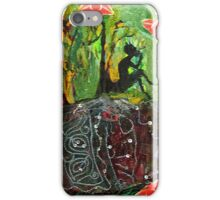 Pan showing roots into the Earth. iPhone Case/Skin