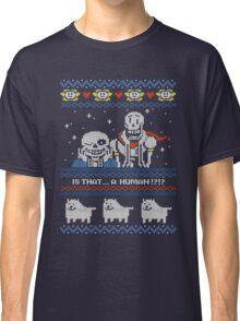 Sans and Papyrus Festive Sweater Design Classic T-Shirt