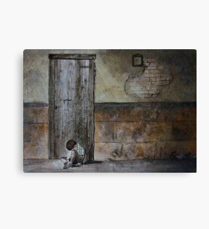 Alone - original photo by Naomi Frost Canvas Print