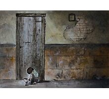 Alone - original photo by Naomi Frost Photographic Print