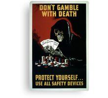 Vintage World War II Safety Equipment Canvas Print