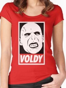 Lord Voldemort Women's Fitted Scoop T-Shirt